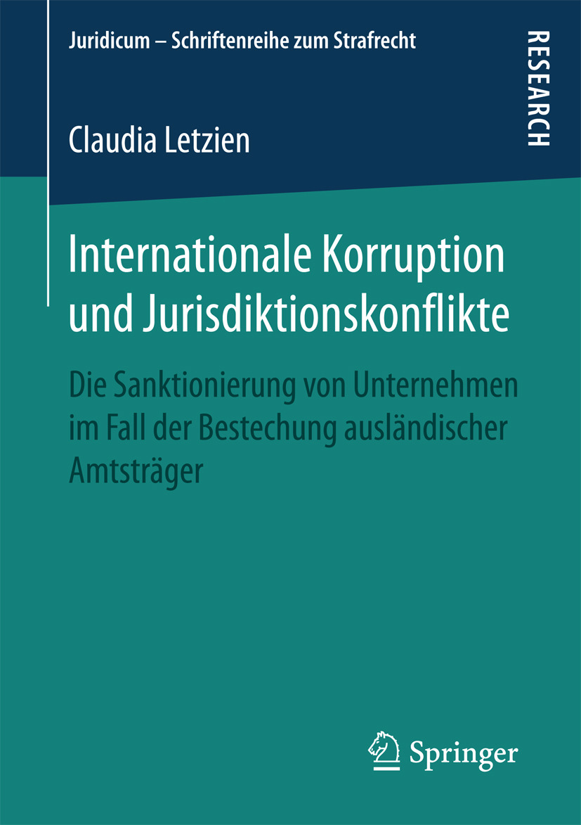 Letzien, Claudia - Internationale Korruption und Jurisdiktionskonflikte, ebook