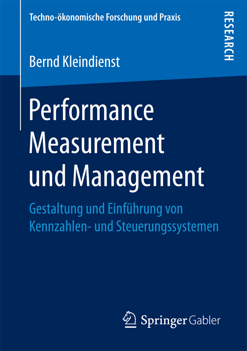 Kleindienst, Bernd - Performance Measurement und Management, ebook