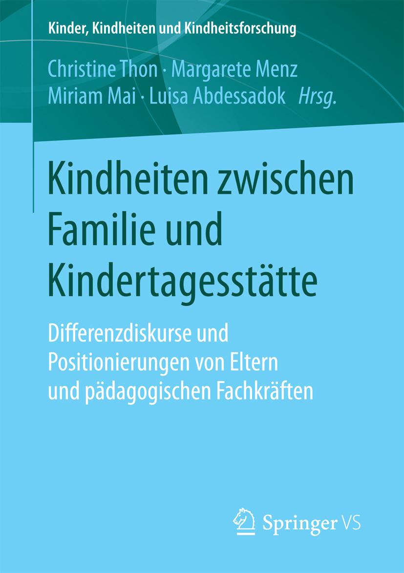 Abdessadok, Luisa - Kindheiten zwischen Familie und Kindertagesstätte, ebook