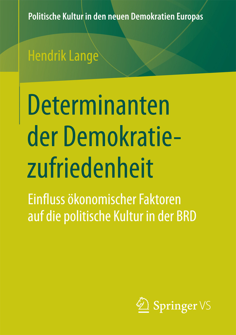 Lange, Hendrik - Determinanten der Demokratiezufriedenheit, ebook