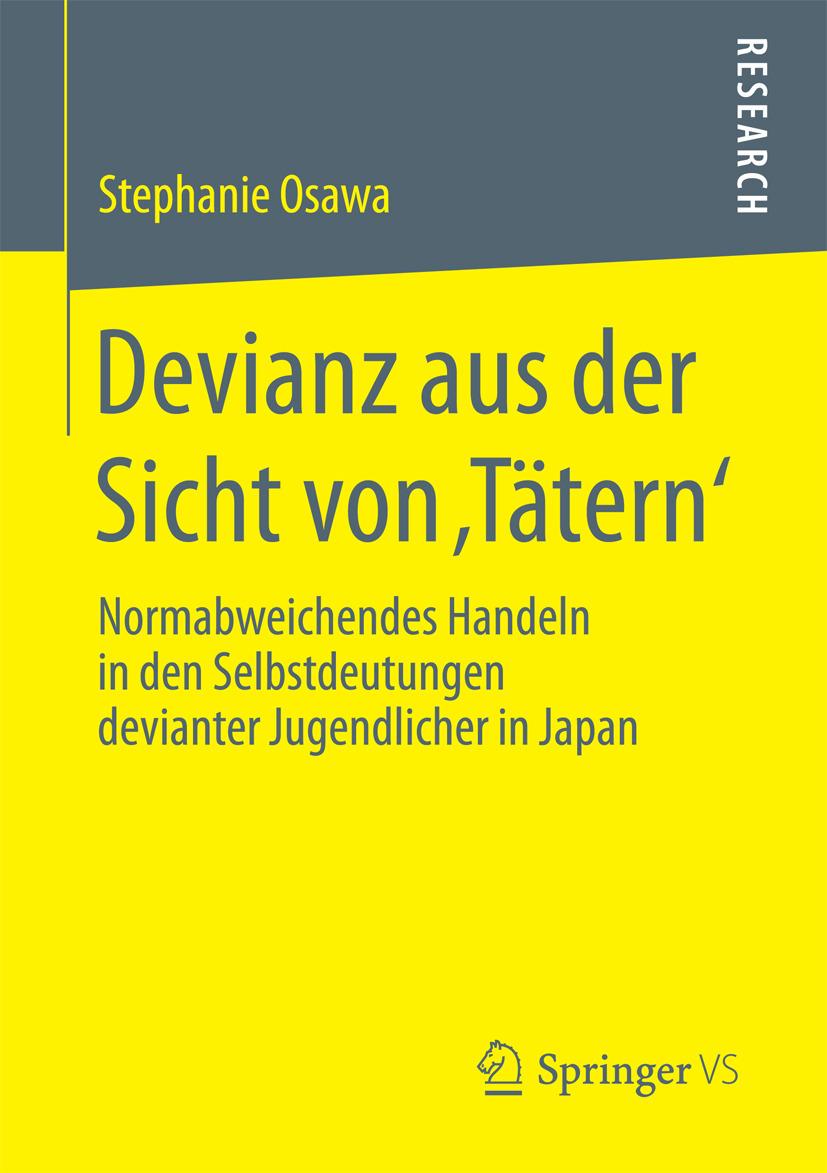 Osawa, Stephanie - Devianz aus der Sicht von 'Tätern', ebook