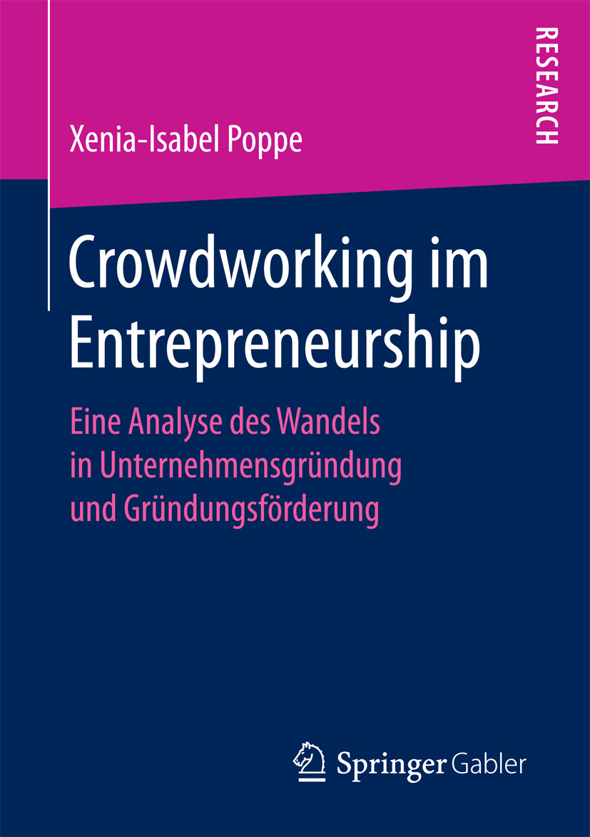 Poppe, Xenia-Isabel - Crowdworking im Entrepreneurship, ebook