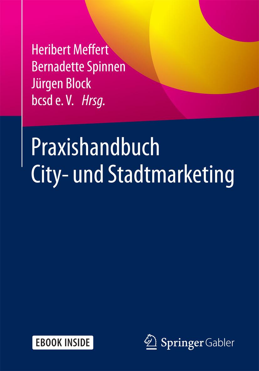 Block, Jürgen - Praxishandbuch City- und Stadtmarketing, ebook