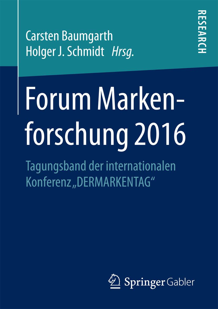 Baumgarth, Carsten - Forum Markenforschung 2016, ebook