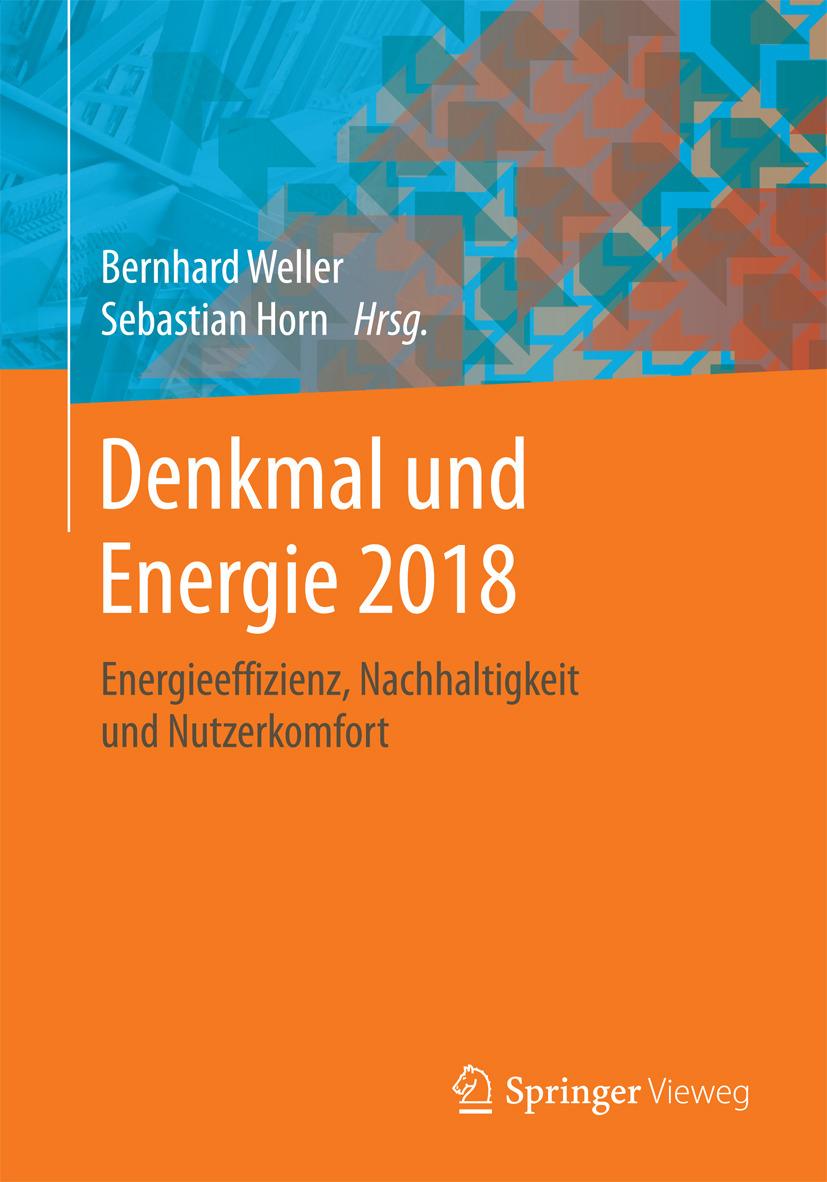 Horn, Sebastian - Denkmal und Energie 2018, ebook
