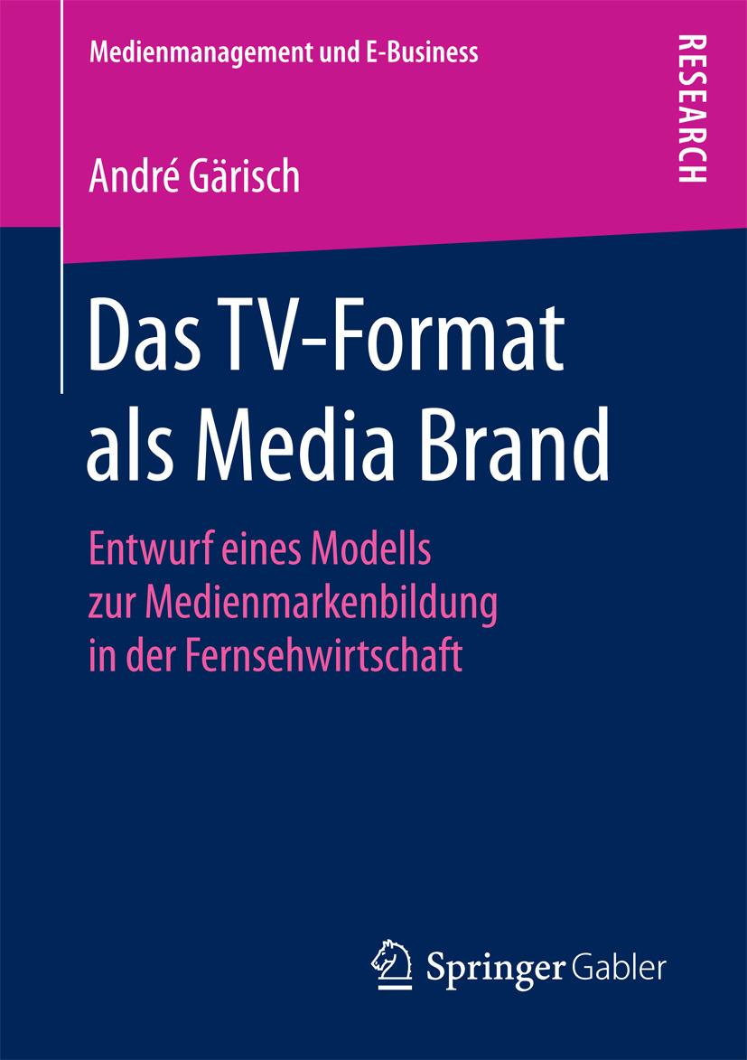 Gärisch, André - Das TV-Format als Media Brand, e-bok
