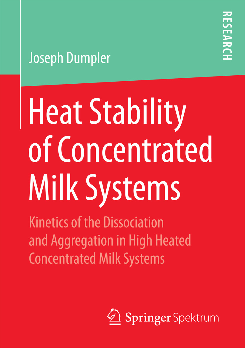 Dumpler, Joseph - Heat Stability of Concentrated Milk Systems, ebook