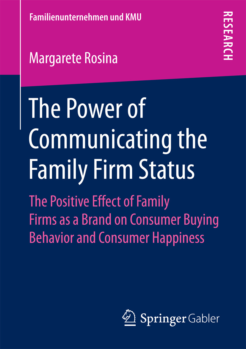Rosina, Margarete - The Power of Communicating the Family Firm Status, ebook