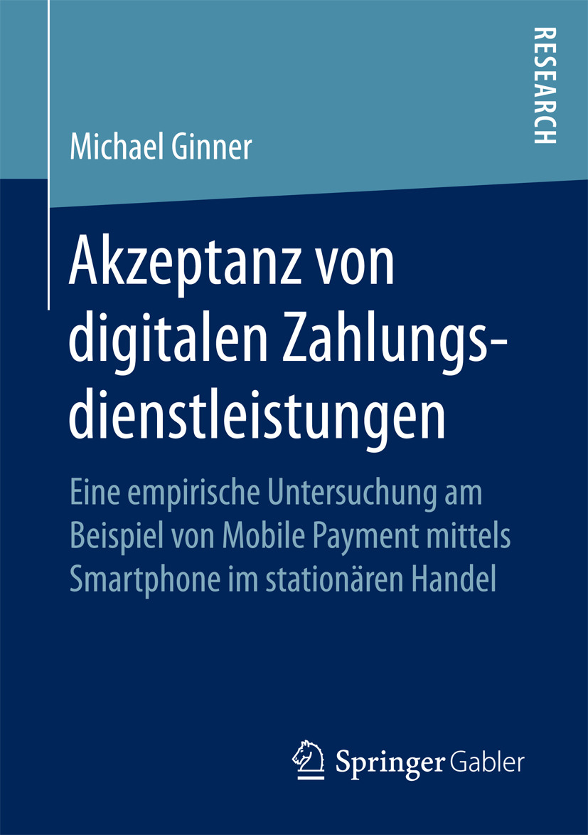 Ginner, Michael - Akzeptanz von digitalen Zahlungsdienstleistungen, e-bok