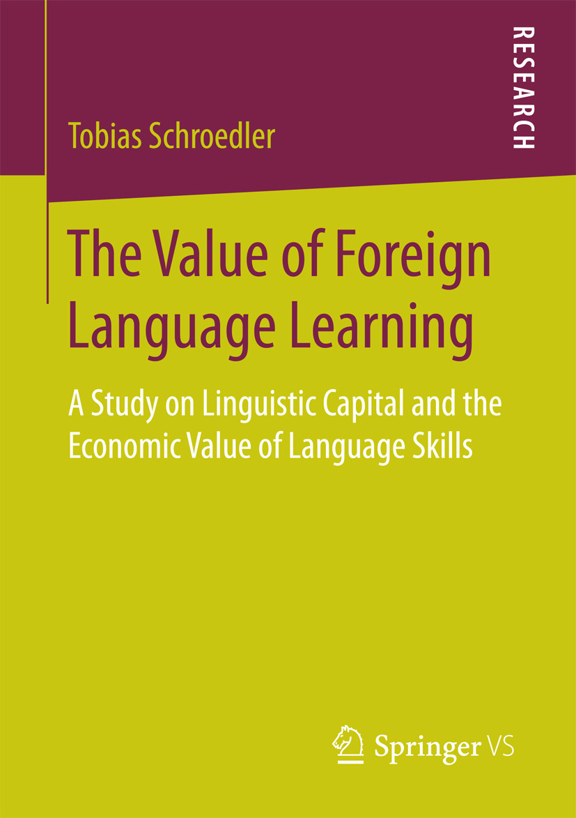 Schroedler, Tobias - The Value of Foreign Language Learning, ebook
