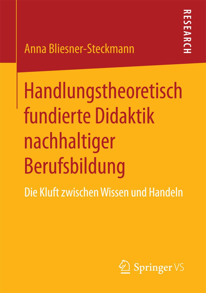 Bliesner-Steckmann, Anna - Handlungstheoretisch fundierte Didaktik nachhaltiger Berufsbildung, ebook
