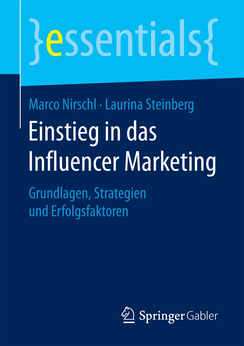Nirschl, Marco - Einstieg in das Influencer Marketing, ebook