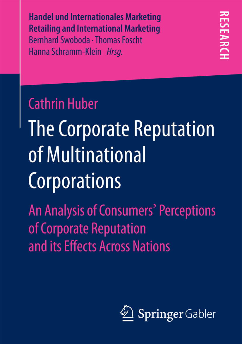Huber, Cathrin - The Corporate Reputation of Multinational Corporations, ebook