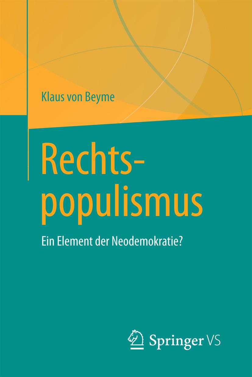 Beyme, Klaus von - Rechtspopulismus, ebook