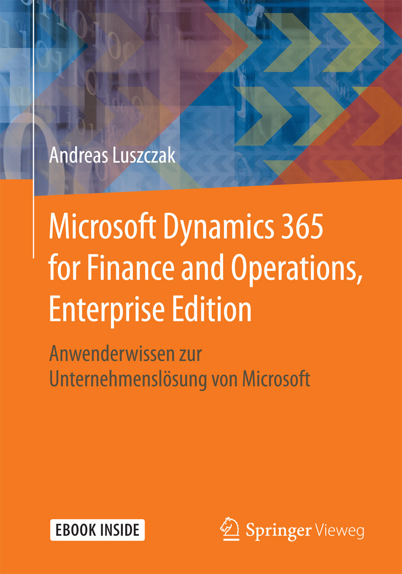 Luszczak, Andreas - Microsoft Dynamics 365 for Finance and Operations, Enterprise Edition, ebook