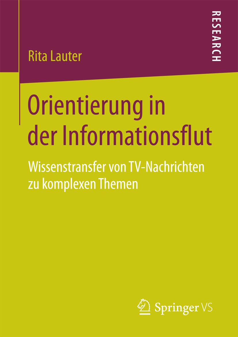 Lauter, Rita - Orientierung in der Informationsflut, ebook