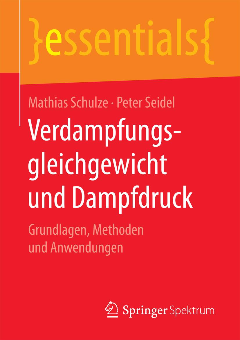 Schulze, Mathias - Verdampfungsgleichgewicht und Dampfdruck, ebook