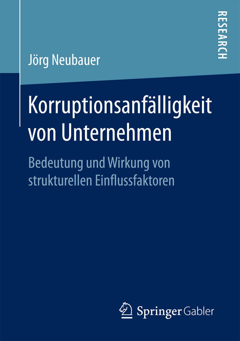Neubauer, Jörg - Korruptionsanfälligkeit von Unternehmen, ebook