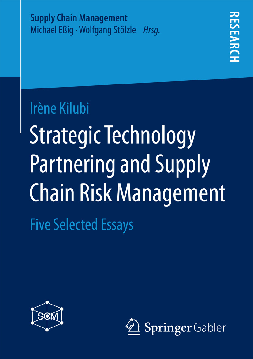 Kilubi, Irène - Strategic Technology Partnering and Supply Chain Risk Management, ebook