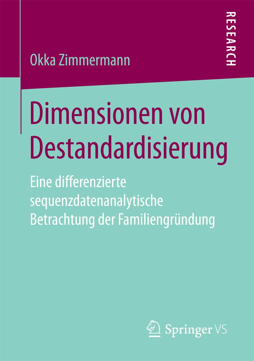 Zimmermann, Okka - Dimensionen von Destandardisierung, ebook