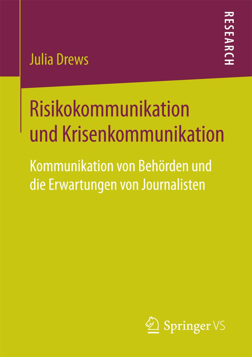 Drews, Julia - Risikokommunikation und Krisenkommunikation, ebook