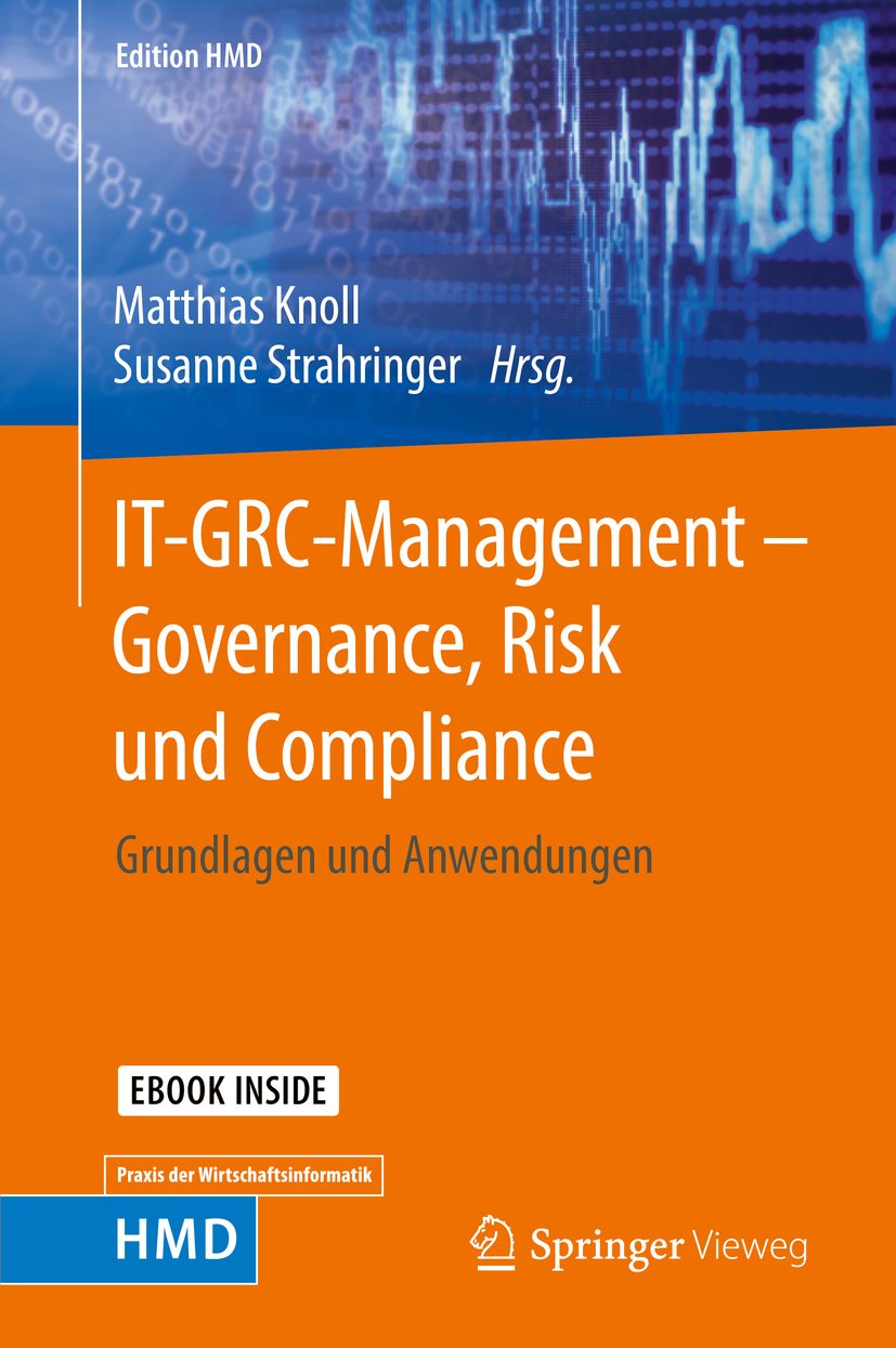Knoll, Matthias - IT-GRC-Management – Governance, Risk und Compliance, ebook