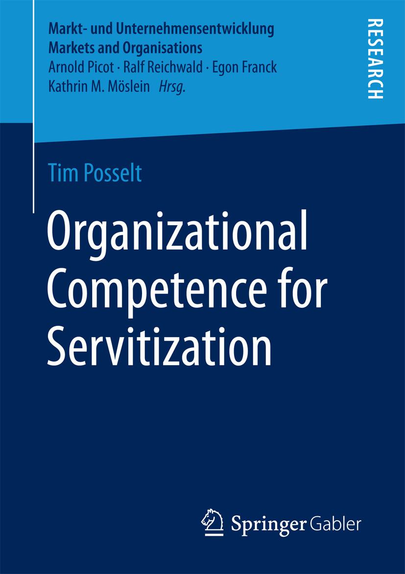 Posselt, Tim - Organizational Competence for Servitization, ebook