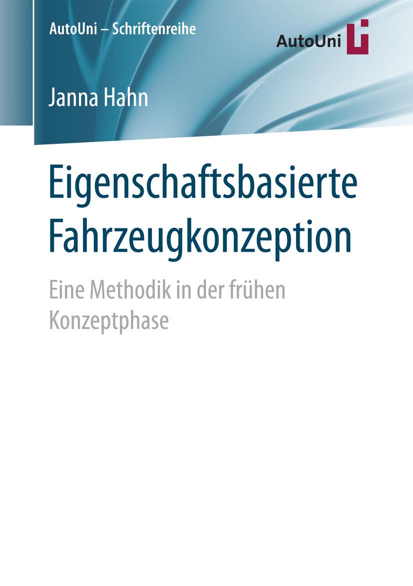 Hahn, Janna - Eigenschaftsbasierte Fahrzeugkonzeption, ebook