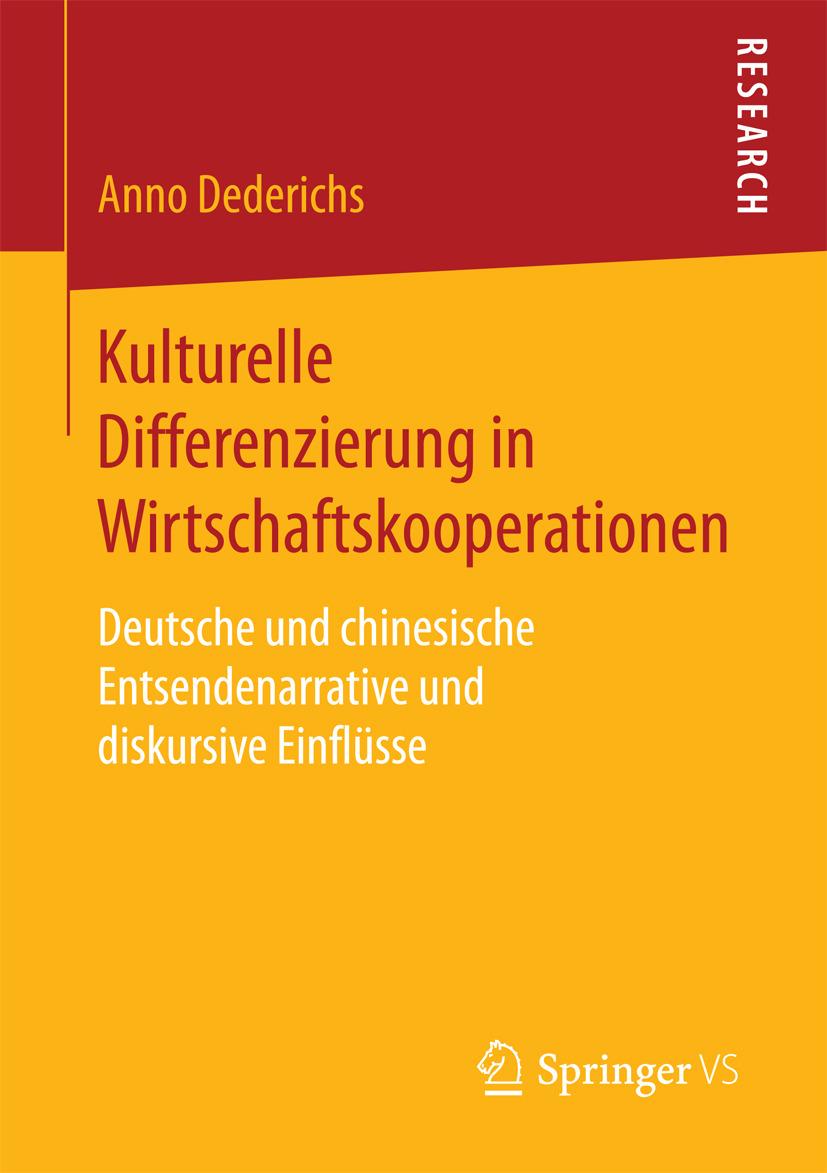 Dederichs, Anno - Kulturelle Differenzierung in Wirtschaftskooperationen, ebook
