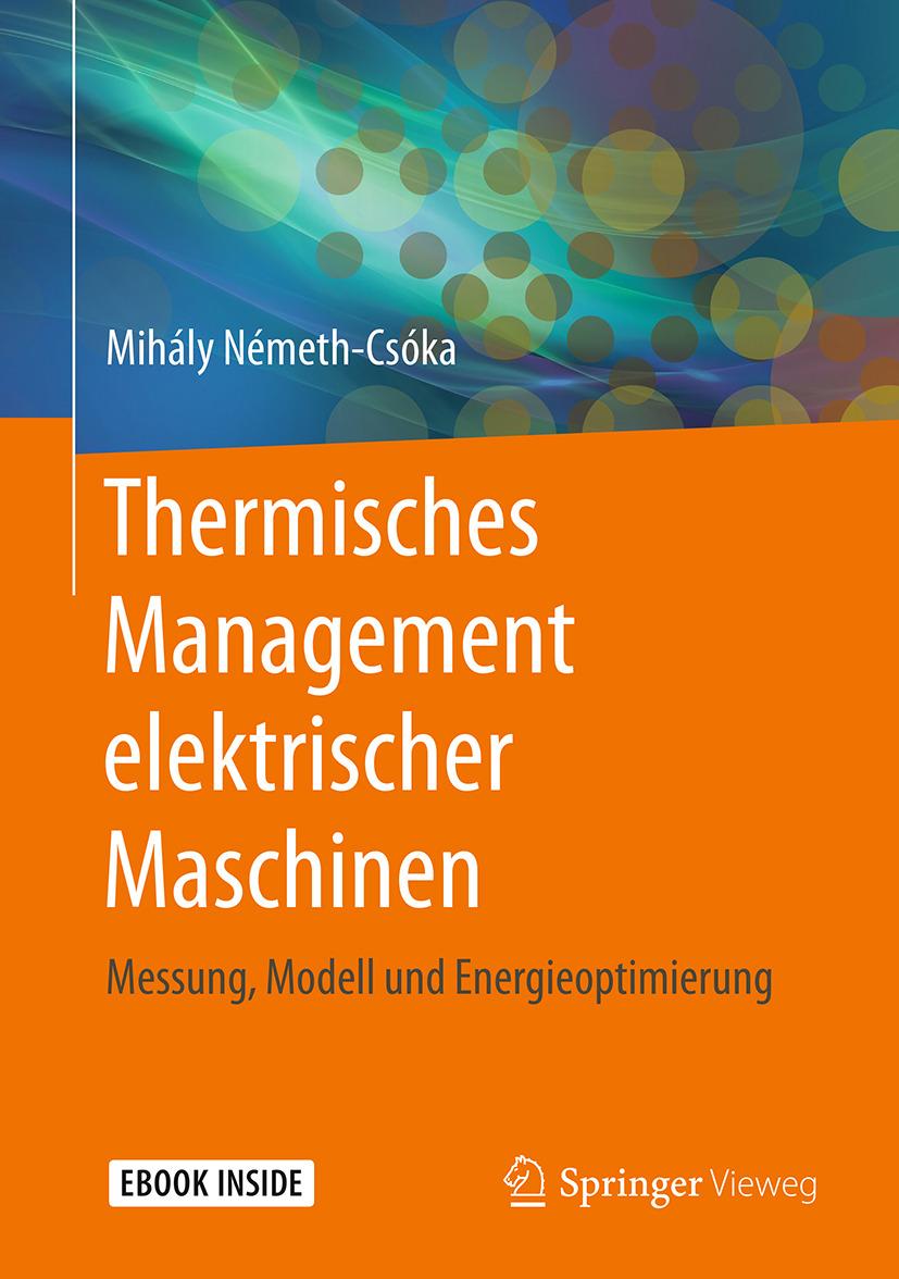 Németh-Csóka, Mihály - Thermisches Management elektrischer Maschinen, ebook