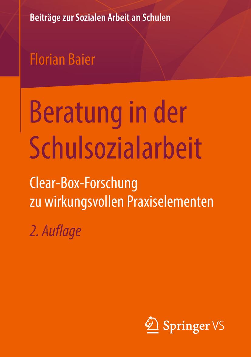 Baier, Florian - Beratung in der Schulsozialarbeit, ebook