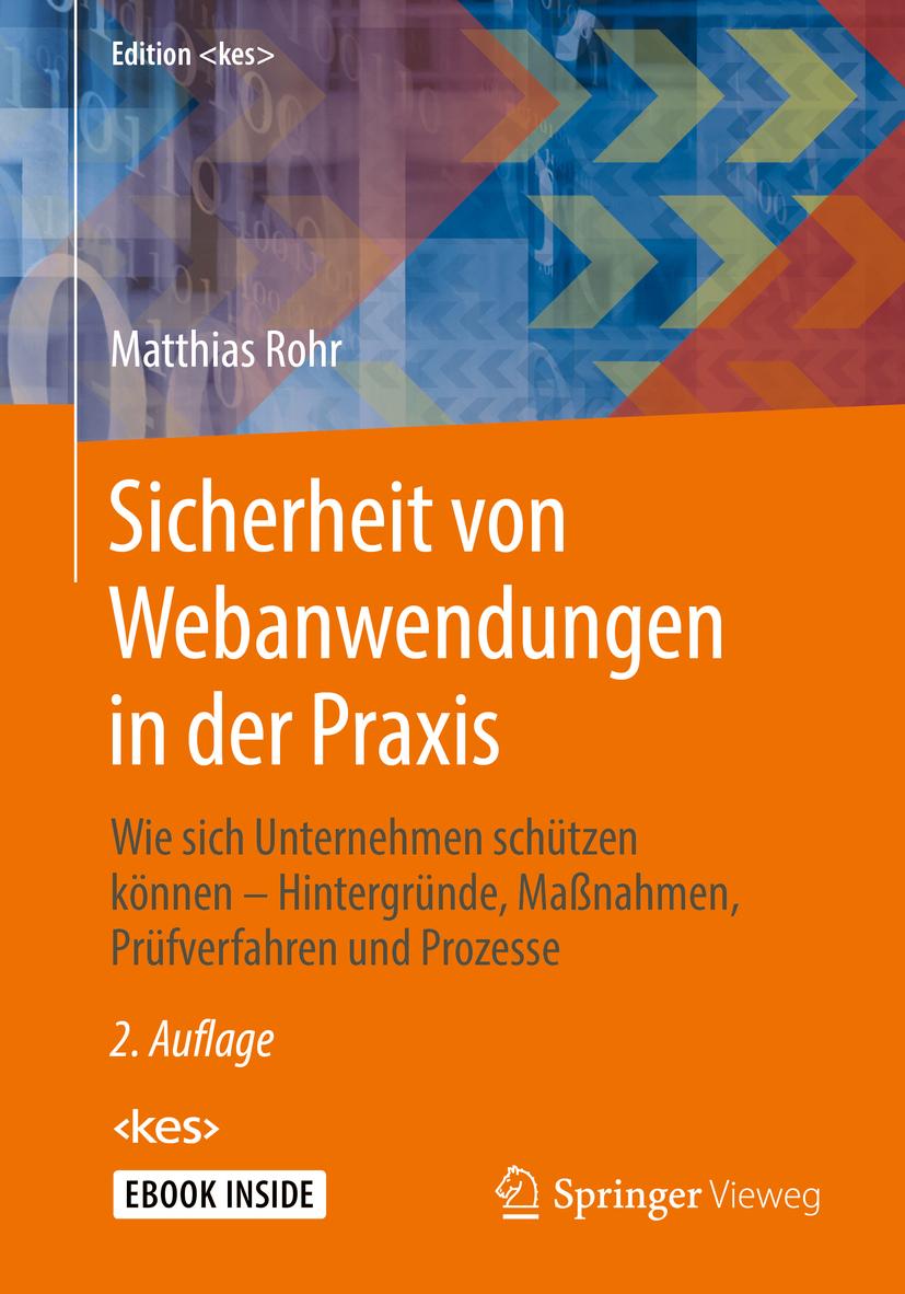 Rohr, Matthias - Sicherheit von Webanwendungen in der Praxis, ebook