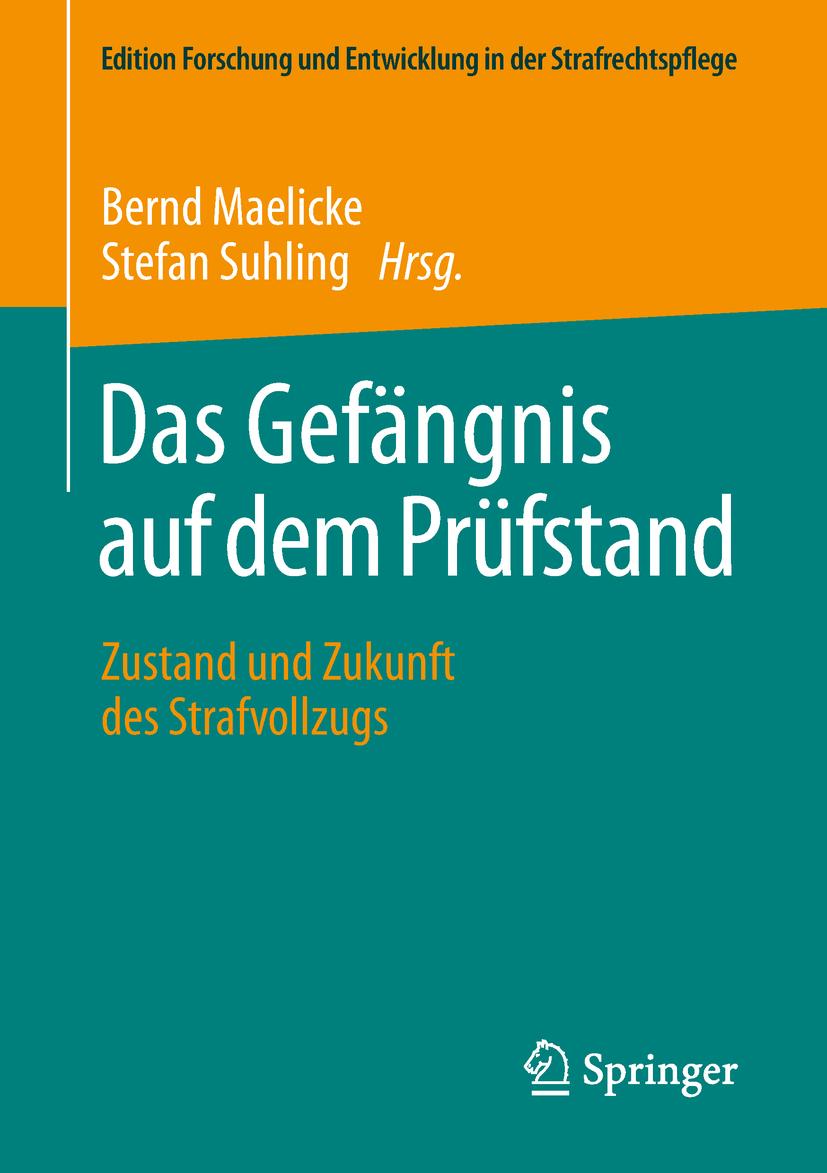 Maelicke, Bernd - Das Gefängnis auf dem Prüfstand, ebook