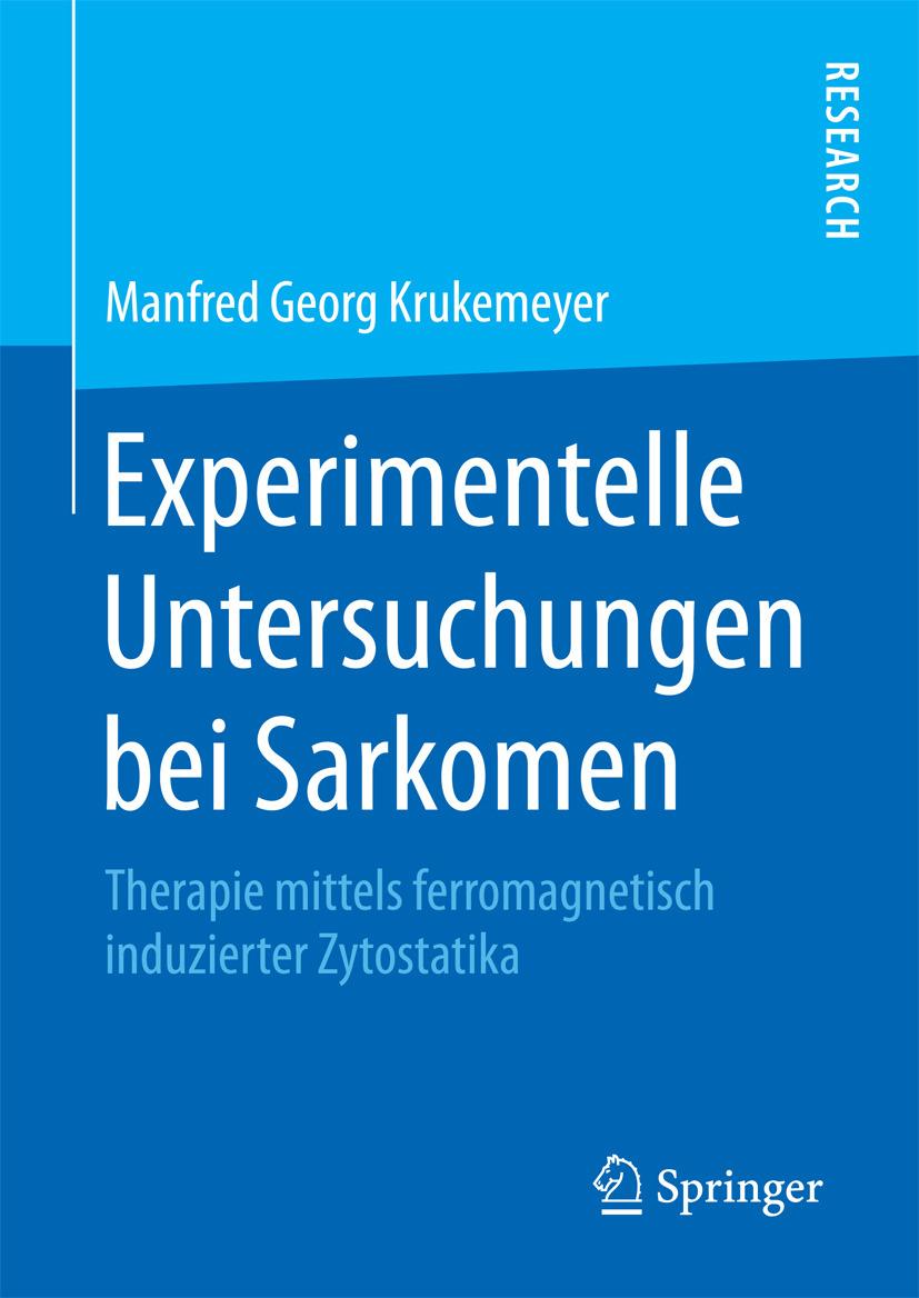 Krukemeyer, Manfred Georg - Experimentelle Untersuchungen bei Sarkomen, ebook