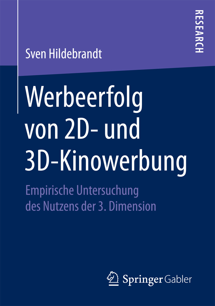 Hildebrandt, Sven - Werbeerfolg von 2D- und 3D-Kinowerbung, ebook