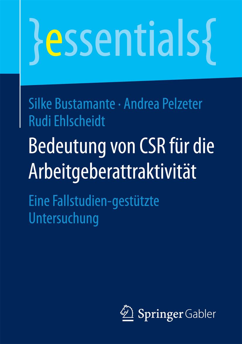 Bustamante, Silke - Bedeutung von CSR für die Arbeitgeberattraktivität, e-kirja