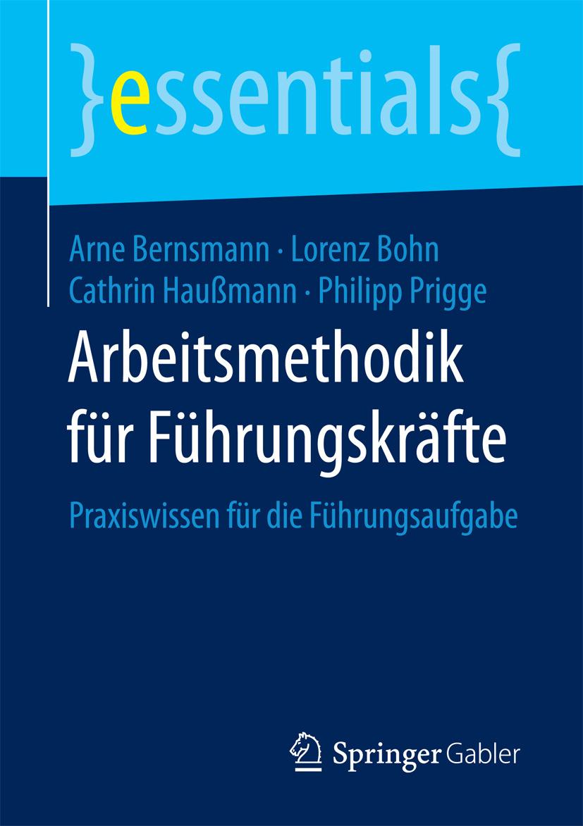 Bernsmann, Arne - Arbeitsmethodik für Führungskräfte, ebook