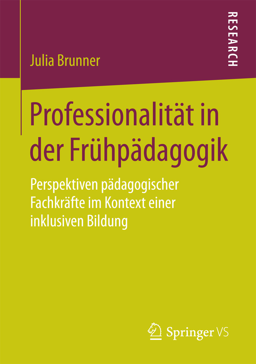 Brunner, Julia - Professionalität in der Frühpädagogik, ebook
