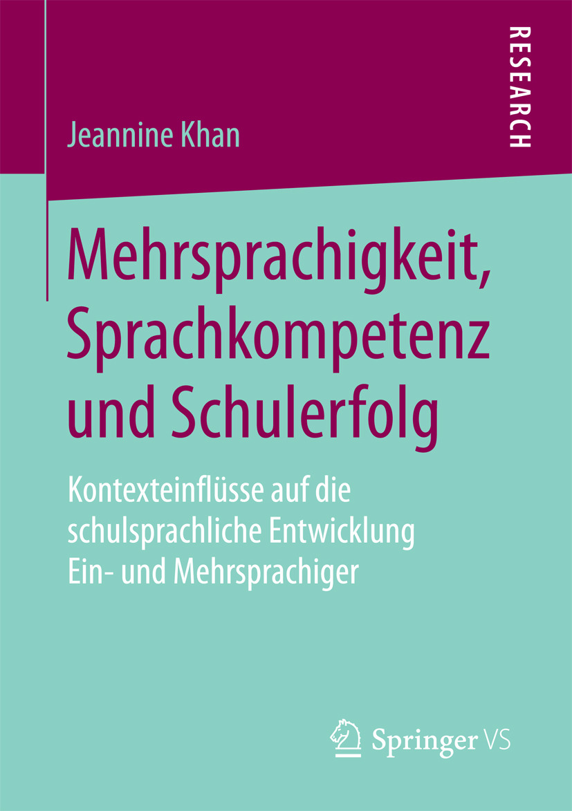 Khan, Jeannine - Mehrsprachigkeit, Sprachkompetenz und Schulerfolg, ebook