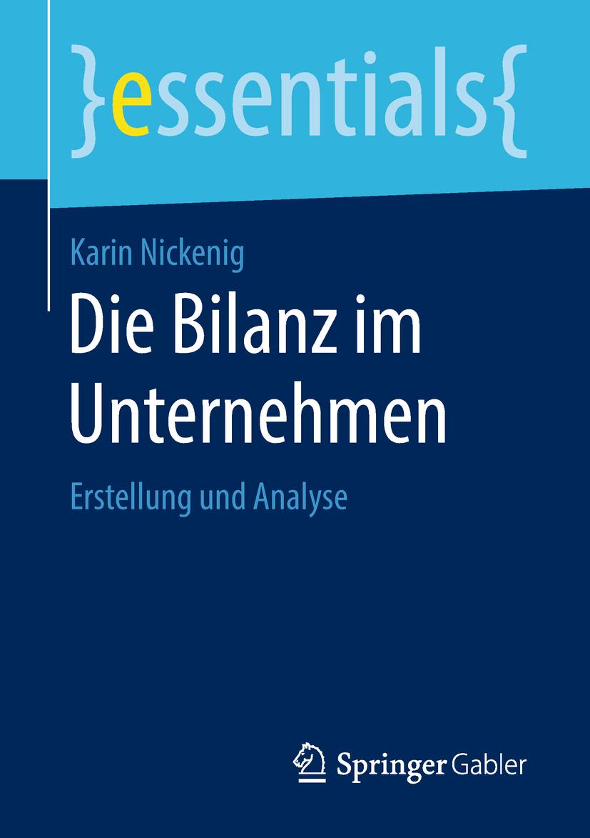 Nickenig, Karin - Die Bilanz im Unternehmen, ebook
