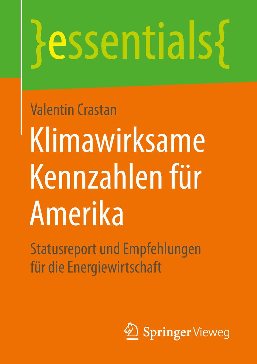 Crastan, Valentin - Klimawirksame Kennzahlen für Amerika, ebook