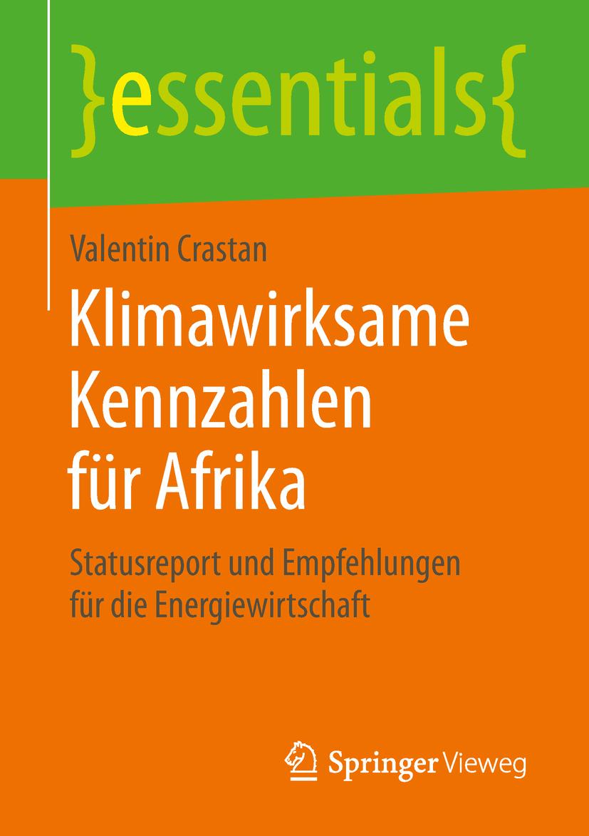 Crastan, Valentin - Klimawirksame Kennzahlen für Afrika, ebook