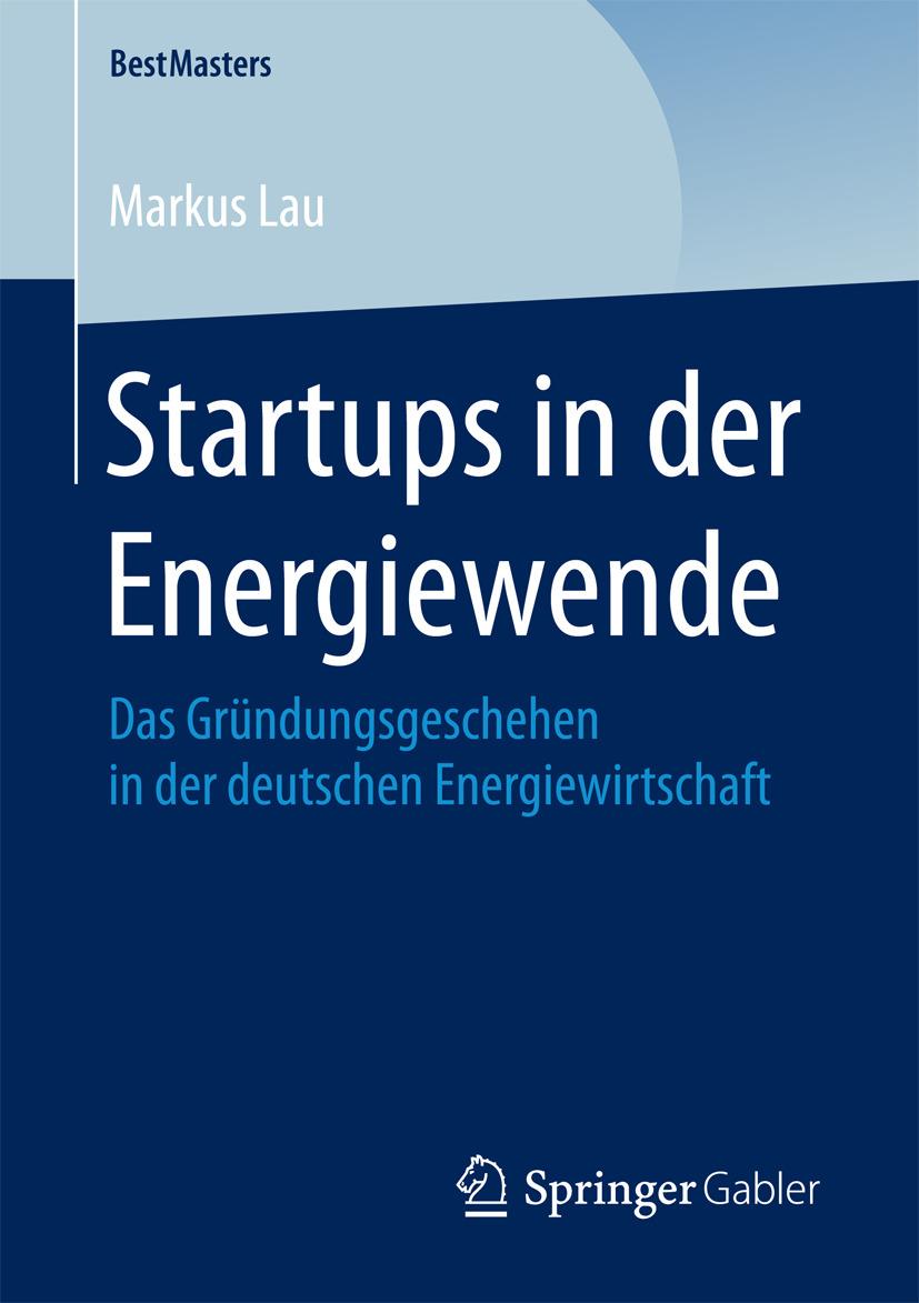 Lau, Markus - Startups in der Energiewende, ebook