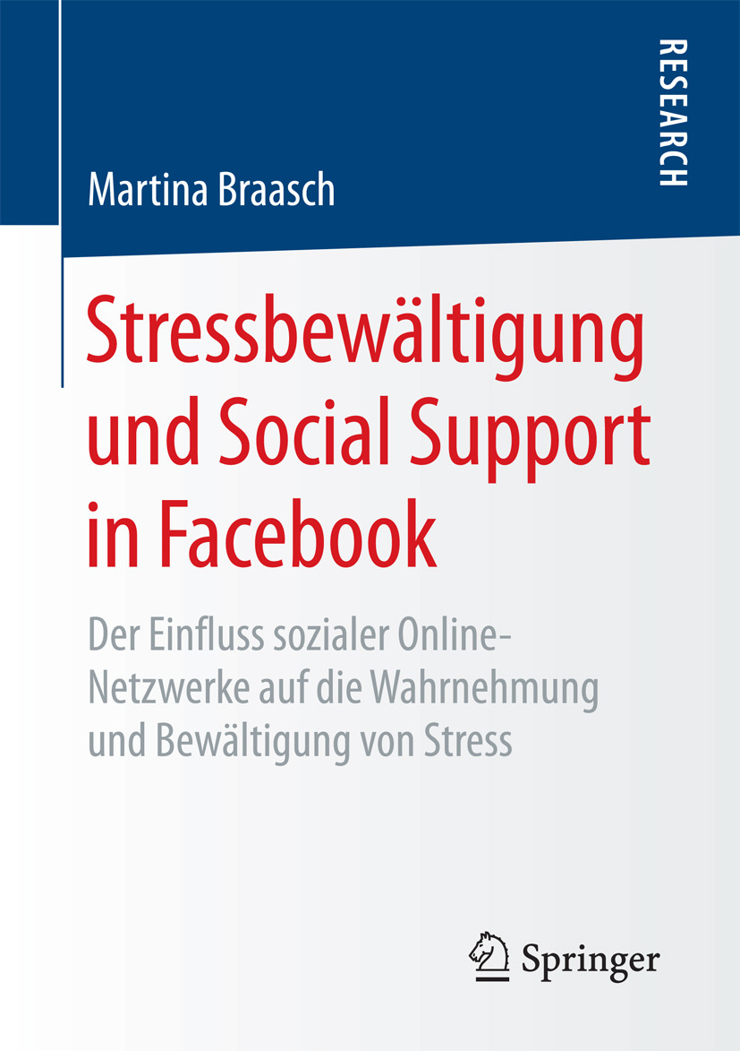 Braasch, Martina - Stressbewältigung und Social Support in Facebook, ebook