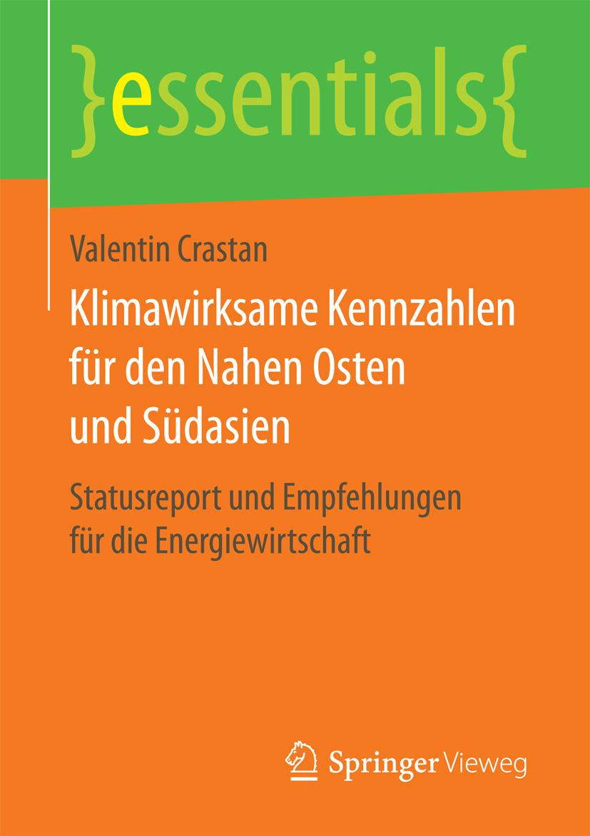 Crastan, Valentin - Klimawirksame Kennzahlen für den Nahen Osten und Südasien, e-kirja