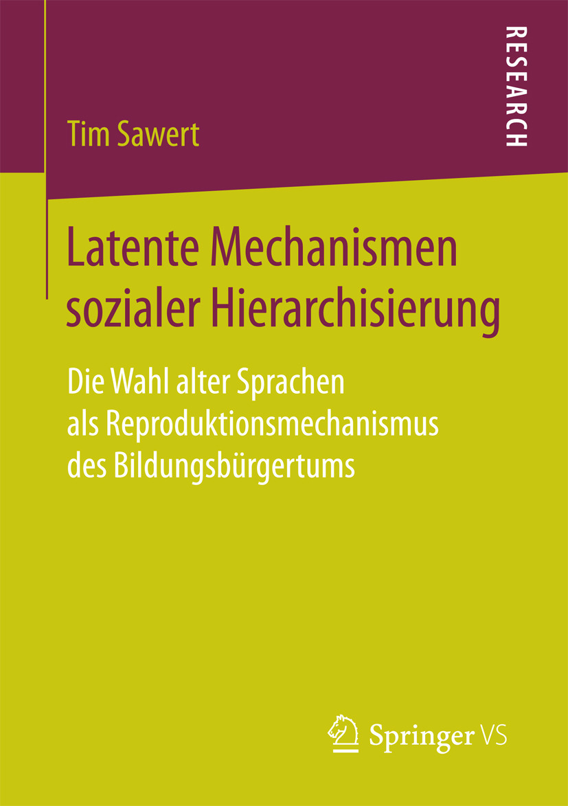 Sawert, Tim - Latente Mechanismen sozialer Hierarchisierung, ebook