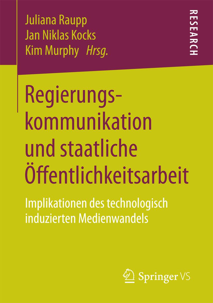 Kocks, Jan Niklas - Regierungskommunikation und staatliche Öffentlichkeitsarbeit, ebook