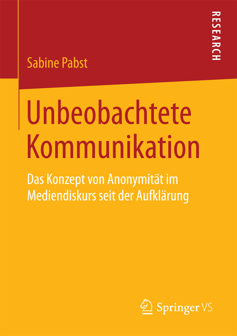 Pabst, Sabine - Unbeobachtete Kommunikation, ebook