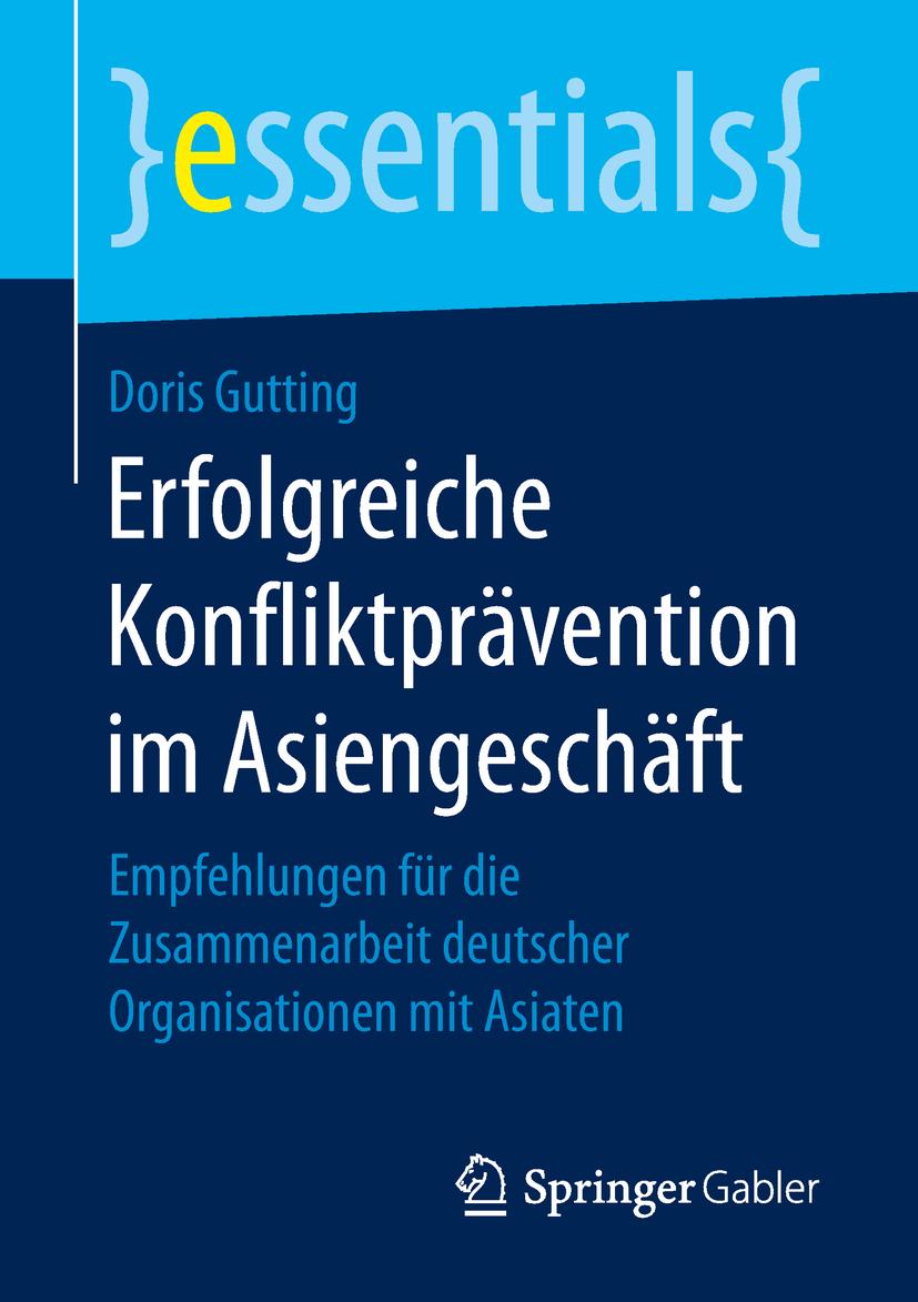 Gutting, Doris - Erfolgreiche Konfliktprävention im Asiengeschäft, ebook