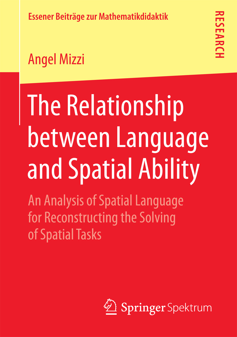 Mizzi, Angel - The Relationship between Language and Spatial Ability, ebook